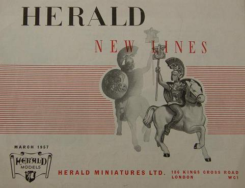Herald New Lines March 1957